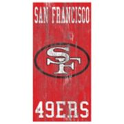 San Francisco 49ers Heritage Logo Wall Sign