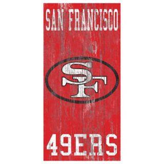 San Francisco 49ers Heritage Logo Wall Sign