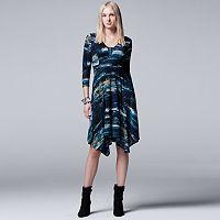 Women's Simply Vera Vera Wang Abstract A-Line Dress