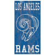 Los Angeles Rams Heritage Logo Wall Sign