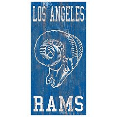 Los Angeles Rams Heritage Logo Wall Sign