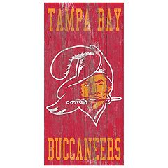 Tampa Bay Buccaneers Heritage Logo Wall Sign
