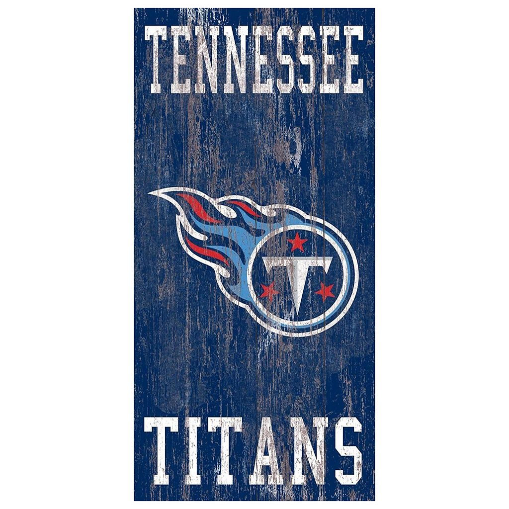 Tennessee Titans Heritage Logo Wall Sign
