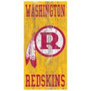 Washington Redskins Heritage Logo Wall Sign