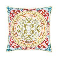 37 West Fiona Medallion Throw Pillow
