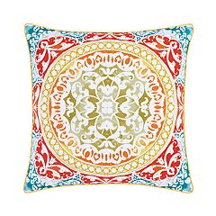 37 West Fiona Medallion Throw Pillow