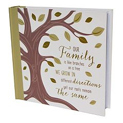 New View 'Our Family' Photo Album