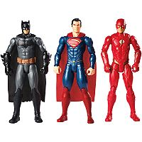 DC Comics Justice League Batman, Superman & The Flash 3-Pack