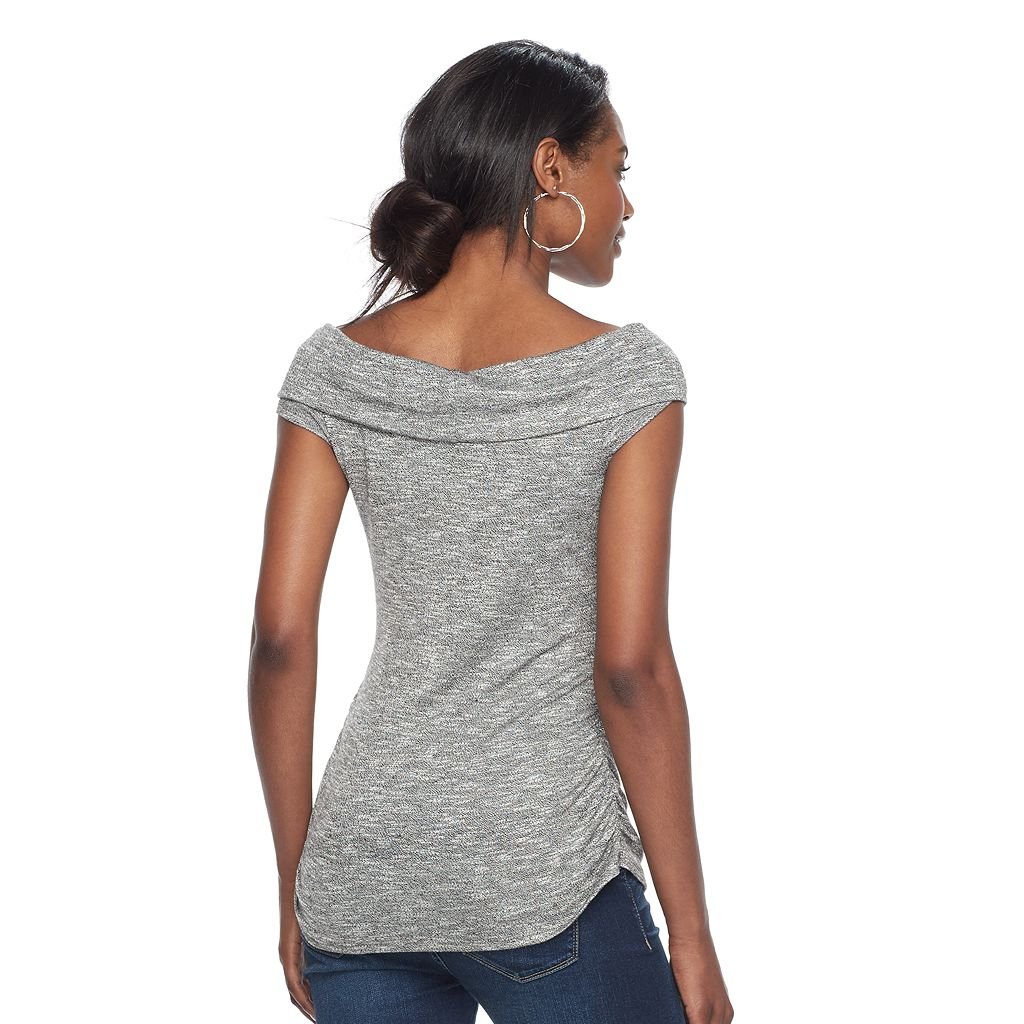 Women's Juicy Couture Faux-Wrap Tee