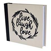 New View 'Live Laugh Love' Photo Album