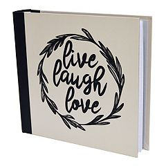 New View 'Live Laugh Love' Photo Album