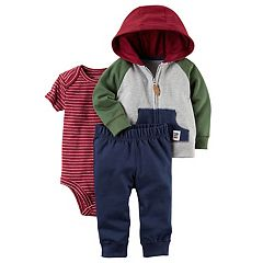 Baby Boy Carter's 'I Am Awesome' Hoodie, Bodysuit & Pants Set