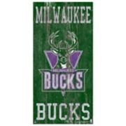 Milwaukee Bucks Heritage Logo Wall Sign