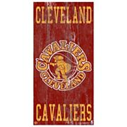 Cleveland Cavaliers Heritage Logo Wall Sign