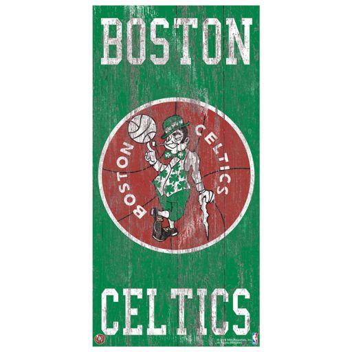 Boston Celtics Heritage Logo Wall Sign