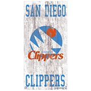 Los Angeles Clippers Heritage Logo Wall Sign
