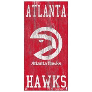 Atlanta Hawks Heritage Logo Wall Sign