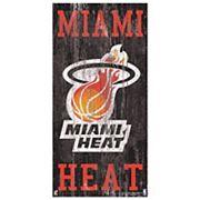 Miami Heat Heritage Logo Wall Sign