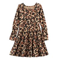Toddler Girl Jumping Beans® Print Skater Dress