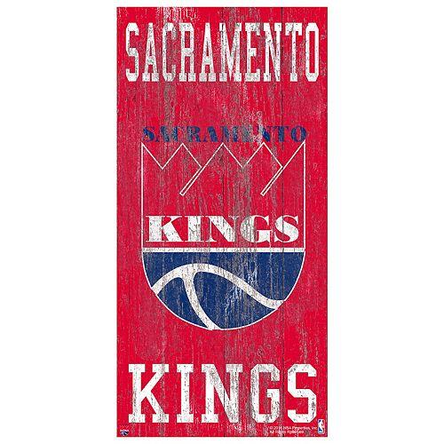 Sacramento Kings Heritage Logo Wall Sign