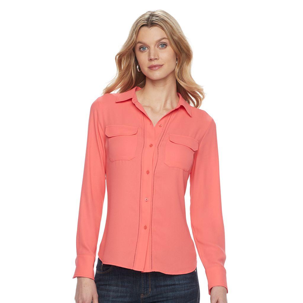 Women's Dana Buchman Button-Down Blouse