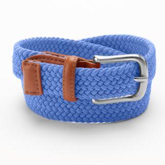 Boys 4-20 IZOD Braided Stretch Belt