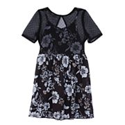 Girls 7-16 IZ Amy Byer Slip Bodice Floral Dress