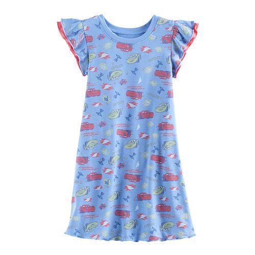 Disney / Pixar Cars 3 Lightning McQueen & Cruz Ramirez Toddler Girl Dress