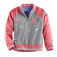 Disney / Pixar Cars 3 Lightning McQueen & Cruz Ramirez Toddler Girl Reversible Racing Jacket