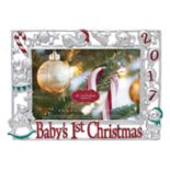 "St. Nicholas Square® ""Baby's 1st Christmas 2017"" 4"" x 6"" Frame"
