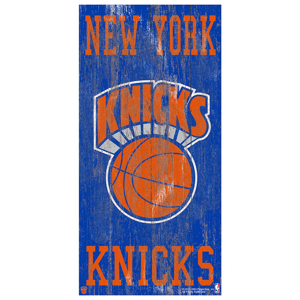 New York Knicks Heritage Logo Wall Sign