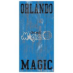 Orlando Magic Heritage Logo Wall Sign