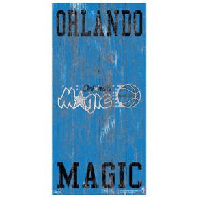 Orlando Magic Heritage Logo Wall Sign