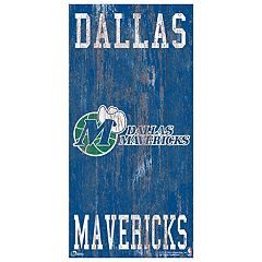 Dallas Mavericks Heritage Logo Wall Sign