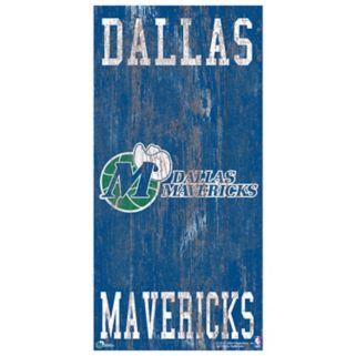 Dallas Mavericks Heritage Logo Wall Sign