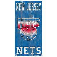 Brooklyn Nets Heritage Logo Wall Sign