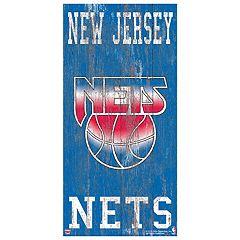 Brooklyn Nets Heritage Logo Wall Sign