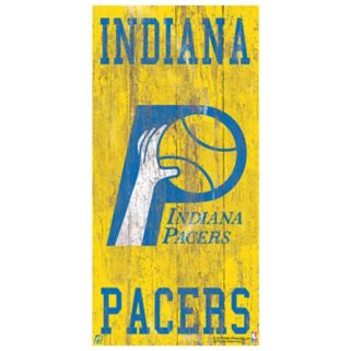 Indiana Pacers Heritage Logo Wall Sign