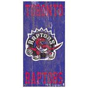 Toronto Raptors Heritage Logo Wall Sign