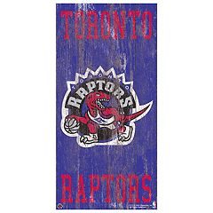 Toronto Raptors Heritage Logo Wall Sign