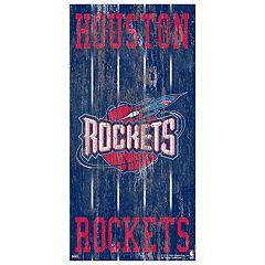 Houston Rockets Heritage Logo Wall Sign