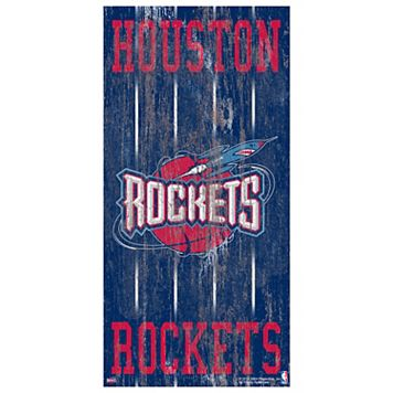 Houston Rockets Heritage Logo Wall Sign