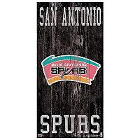 San Antonio Spurs Heritage Logo Wall Sign