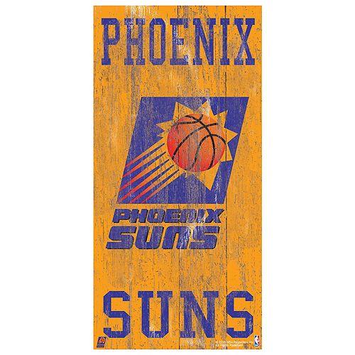 Phoenix Suns Heritage Logo Wall Sign