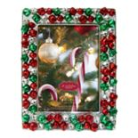 "St. Nicholas Square® Jingle Bell 5"" x 7"" Christmas Frame"