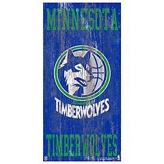 Minnesota Timberwolves Heritage Logo Wall Sign