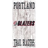 Portland Trail Blazers Heritage Logo Wall Sign