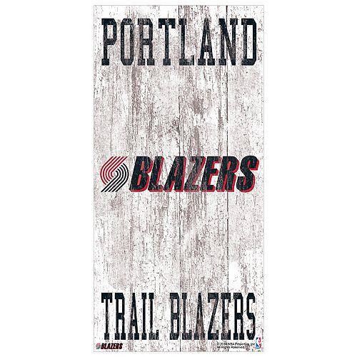 Portland Trail Blazers Heritage Logo Wall Sign