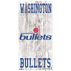 Washington Wizards Heritage Logo Wall Sign