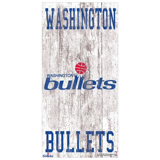 Washington Wizards Heritage Logo Wall Sign